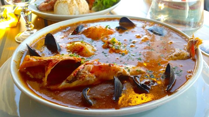 魚湯─bouillabaisse